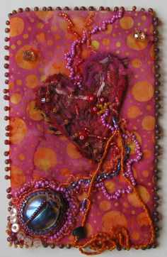 Intuitive Beaded embroidery at The Honey Beadery