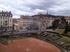 Teatro romano en Lyon. Francia