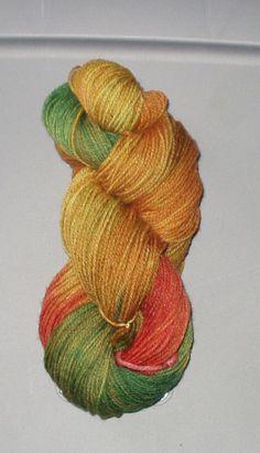 SuperWash  Merino Nylon  Sock Yarn  Hand by SunnyhillFiberDreams