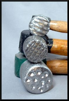 Fazendo martelos para textura