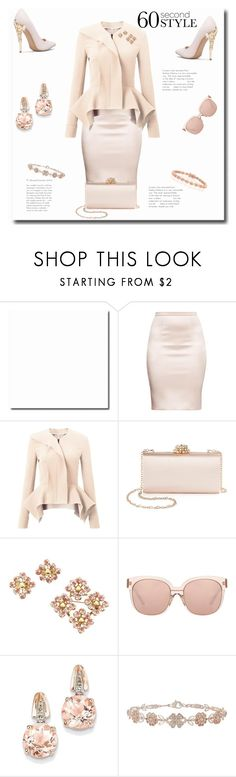 """60 second style"" by exoduss ❤ liked on Polyvore featuring Roland Mouret, La Regale, Louis Vuitton, Linda Farrow, BillyTheTree, Accessorize, Bling Jewelry, WorkWear and 60secondstyle"