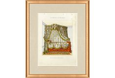 1850s  Furniture  Print on OneKingsLane.com for Master Bedroom
