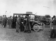 King George V, - his queen-consort Queen Mary, - and the Countess of Leicester talk together at the West Norfolk Hunt Club Steeplechase. Hunt Club, Queen Mary, King George, Leicester, Norfolk, Royals, Royalty