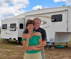 Here's our best RV lifestyle tips, from the cost of RVing to RV living off the grid to going full-time, RV repairs, workamping & choosing an RV Do It Yourself Camper, Fifth Wheel Living, Living On The Road, Full Time Rv Living, Rv Camping, Camping Ideas, Camping Hacks, Outdoor Camping, Glamping