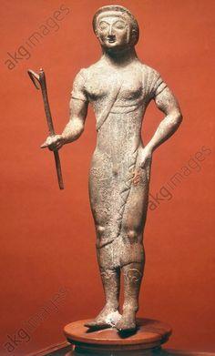 Etruscan bronze statuette of Vertumnus