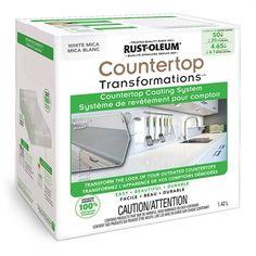 Rust-Oleum 104 Fluid Oz. Mica White Gloss Epoxy Interior Paint