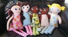 Little Rag Dolls