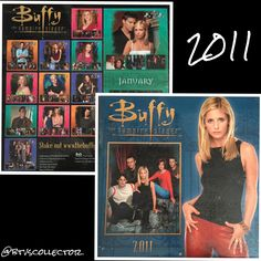 Buffy the Vampire Slayer - 2011 Calendar  #btvscollector #btvs #buffy #buffythevampireslayer