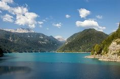 Lake Sauris, Friuli, Italy..  Visit us on Facebook: https://www.facebook.com/groups/imagesfromallovertheworld