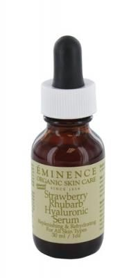 strawberry rhubarb hyaluronic serum from eminence...smells soo good and really works!