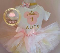Check out this item in my Etsy shop https://www.etsy.com/ca/listing/256148404/pink-and-gold-minnie-mouse-birthday