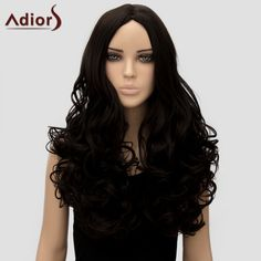 Adiors Women's Curly Long High Temperature Fiber Wig #jewelry, #women, #men, #hats, #watches, #belts, #fashion