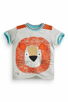Buy Character Lion Tee (0-18mths) from the Next UK online shop