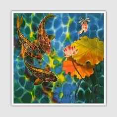 Acrylic Painting GICLEE Print Of Original Acrylic by SilkByLena