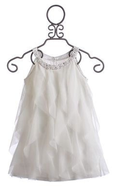 Biscotti Girls Dress in White Once Upon A Princess $69.00