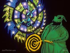 Scary Oogie Boogie cranks a wheel. Halloween Home Decor, Halloween 2019, Halloween Themes, Fall Halloween, Halloween Decorations, Funny Phone Wallpaper, Halloween Wallpaper Iphone, Nightmare Before Christmas Decorations, Tim Burton Films