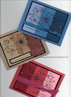 Stamping Sue: Full of colors! ombre card