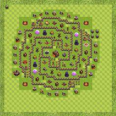 War Base Town Hall Level 10 By Ashik mubarak (war TH 10 Layout)