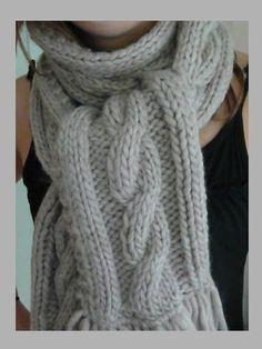 0ef2323f2c83 photo tricot modele gratuit tricot echarpe torsade 11   accessoires ...