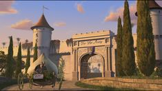 shrek - gates to main city of far far away, inside wall of kingdom 14;22 - 18/03/15