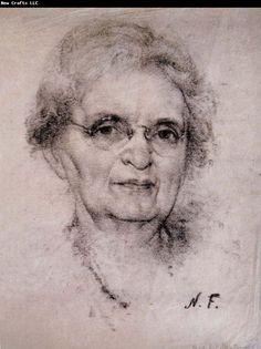 Nikolay Fechin Portrait of old woman