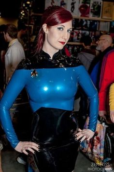 Posts about Cosplay written by Collin J Wood Star Trek Cosplay, Marvel Cosplay, Batgirl Cosplay, Superhero Cosplay, Star Trek Characters, Cosplay Characters, Star Trek Crew, Star Trek Uniforms, Latex Cosplay
