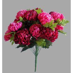 Umelá kytica Chryzantéma, vínová Raspberry, Fruit, Plants, Red, Raspberries, Plant, Planets