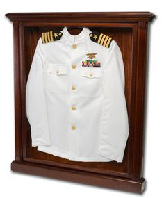 How to display dad's uniform...