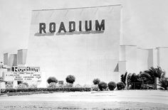 Resourceful theaters like the Roadium Drive-in in the city of Torrance, California, were dual purpose venues that showed movies during the evening and had swap meets during the daylight hours. Description from yesteryearremembered.com. I searched for this on bing.com/images