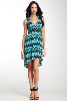 Love this Hi-Lo Chevron Dress