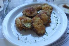 Fried Courgettes #Greek #food