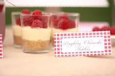 no bake jello cheesecake shooters-price of shot glasses?