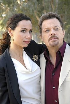 Still of Minnie Driver and Eddie Izzard in The Riches.. the best show ever cancelled!