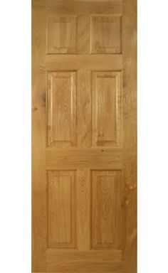 Victorian 6 Panel Solid Oak Door