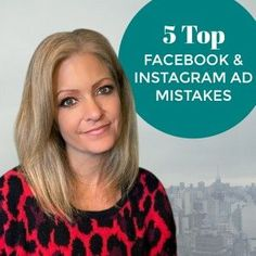 5 Top Facebook Ad Mistakes Marketing Tools, Content Marketing, Career Inspiration, Facebook Marketing, Instagram Tips, Social Media Tips, Pinterest Marketing, Giveaways, Mistakes