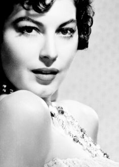 The most beautiful woman to ever grace the silver screen, Ava Gardner.