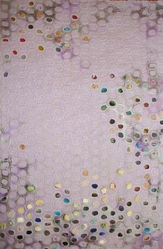 Textile Artists: 10 to Watch -- Atlanta-based artist Leisa Rich does a lot of work in mixed media. This delicately embroidered canvas is one of my favorites. Sculpture Textile, Textile Fiber Art, Textile Artists, Textiles Techniques, African Textiles, Japanese Patterns, Wedding Tattoos, Textile Patterns, Floral Patterns