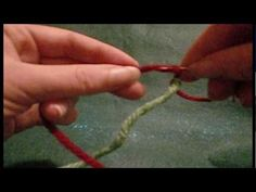 ▶ How to join yarn - Russian join and felted join - YouTube