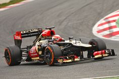 P10 Romain Grosjean (1m34.800), Lotus F1 Team, Test Day 4, Barcelona, Spain
