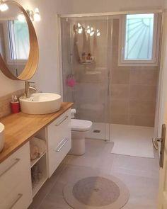 Grafik könnte enthalten interior contains interieur Lithium Modern Bathroom Decor, Bathroom Design Small, Bathroom Inspo, Bathroom Interior Design, Bathroom Inspiration, Interior Design Living Room, Bathroom Ideas, Shower Bathroom, Family Bathroom