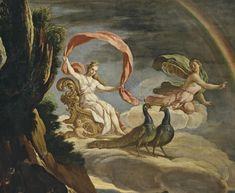 Mythology Paintings, Greek Mythology Art, Norse Mythology, Hera Greek Goddess, Greek Gods And Goddesses, Zodiac Art, Historical Art, Greek Art, Aesthetic Art
