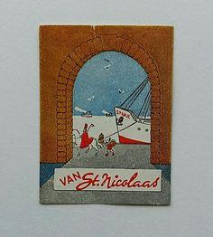 Sinterklaas cadeau zegel