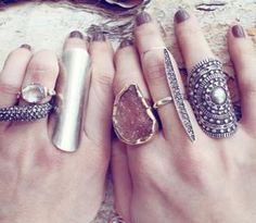 here at #wickedpeacock we can all agree that statement rings are are FAVE!