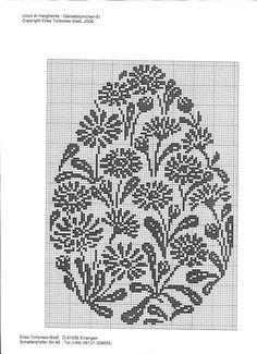 Pattern for embroidery