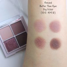 "Romand Better Than Eyes ""Hanbok Project"" Dry Violet 