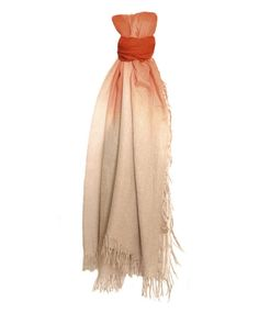 Chan Luu Cashmere & Silk Ombré Scarf in Vintage Khaki & Arabian Spice clbrhsc254 #ChanLuu #ScarfShawlWrap #EverydayCasualSpecialEvening