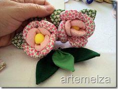 Porta guardanapo flor