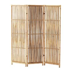IKEA - JASSA, Room divider, Treated with clear varnish which gives natural color variations and allows the furniture to age beautifully over time.Handmade by skilled craftspeople, which makes every room divider unique in design and size.