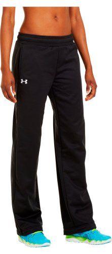 Under Armour Women's Armour® Fleece Team Pants Medium Black Under Armour
