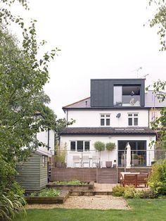 Well Lane Home by Mulroy Architects Traditional single family house located in London, UK, redesigned by Mulroy Architects. 1930s House Extension, House Extension Design, Roof Extension, House Design, Loft Design, Design Design, Loft Dormer, Dormer Roof, Dormer Windows